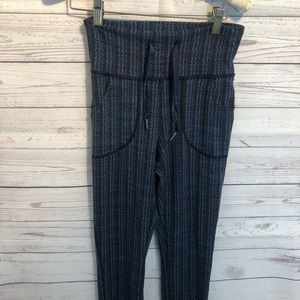 lululemon athletica Pants - Lululemon Skinny Will Ziggy Wee Inkwell Pant